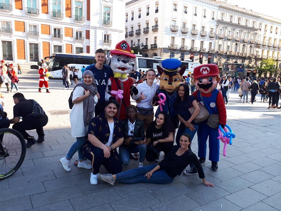 Voyage Des élèves De Cinquième à Madrid