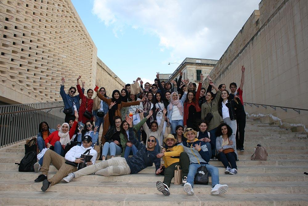Voyage Des Rhétos 2019 à Malte