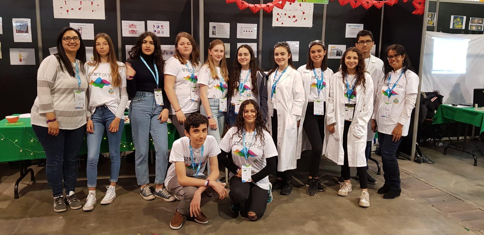 Les élèves De L'ARJette Gagnent Deux Prix à L'expo-Scinces 2019 !